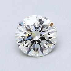 1,00 Carat Rond Diamond Idéale H VS1