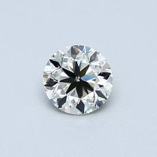 推荐宝石 3:0.45 克拉圆形切割