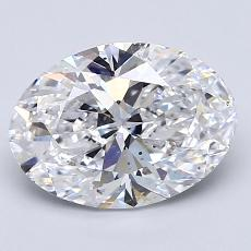 Recommended Stone #3: 2,03-Carat Oval Cut