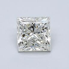 1.00-Carat Princess Diamond Very Good J VVS2