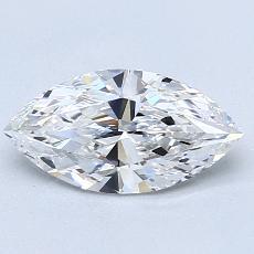 推荐宝石 3:1.05 克拉马眼形切割