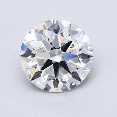 1.20 Carat 圆形 Diamond 理想 E VVS2