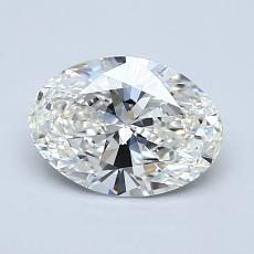 推薦鑽石 #3: 1.05  克拉橢圓形切割
