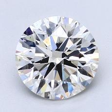 推薦鑽石 #2: 2.01  克拉圓形 Cut