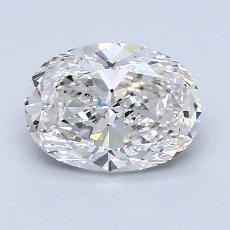 推薦鑽石 #4: 1.31  克拉橢圓形切割