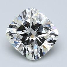 2.01-Carat Cushion Diamond Very Good G VS1