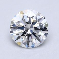1.04 Carat 圆形 Diamond 理想 D VVS2