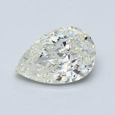 1.01-Carat Pear Diamond Very Good K SI2