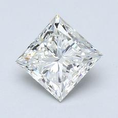 1.01-Carat Princess Diamond Very Good H VS1