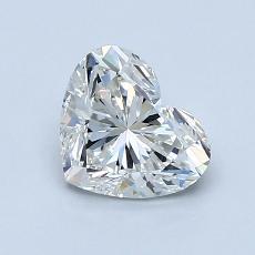 1.01 Carat 心形 Diamond 非常好 I SI2