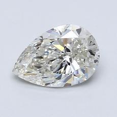 1.00-Carat Pear Diamond Very Good I VS2