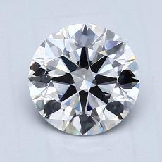 1.02-Carat Round Diamond Ideal D VS1