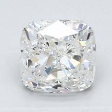 推薦鑽石 #2: 1.86 克拉墊形切割