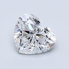 推荐宝石 2:1.04 克拉心形