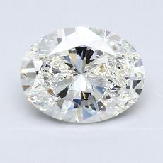 Recommended Stone #1: 2.03-Carat Oval Cut