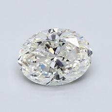 1.01 Carat 橢圓形 Diamond 非常好 I VS1