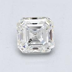 推薦鑽石 #3: 1.07 克拉上丁方形切割