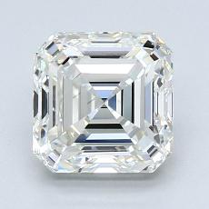 2.01-Carat Asscher Diamond Very Good I VVS1