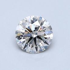 0.70 Carat Redondo Diamond Ideal I VS1