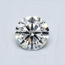 0,70-Carat Round Diamond Ideal J VS1