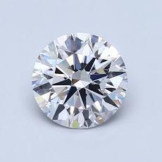 1.01 Carat 圆形 Diamond 理想 D VS1