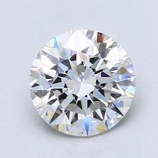 1.52-Carat Round Diamond Ideal G VVS2