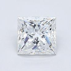 1.02-Carat Princess Diamond Very Good E VS1