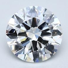 2.00 Carat 圆形 Diamond 理想 G VS1