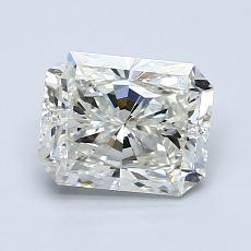 1.50-Carat Radiant Diamond Very Good J SI1