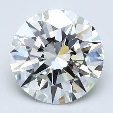 2,02 Carat Rond Diamond Idéale I VS1