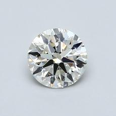 0.70 Carat 圆形 Diamond 理想 J VS1