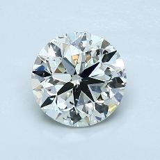 1,01-Carat Round Diamond Very Good K SI2
