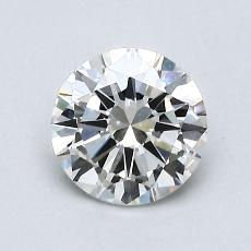 0.90 Carat 圓形 Diamond 非常好 I VS2