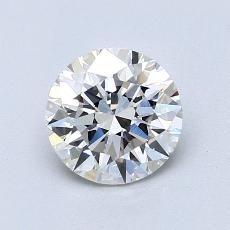 1.03 Carat 圆形 Diamond 理想 F VVS2