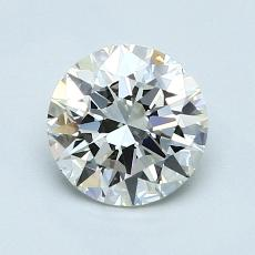 1.00-Carat Round Diamond Ideal I VS2
