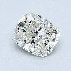 1.00 Carat 垫形 Diamond 非常好 J VS2