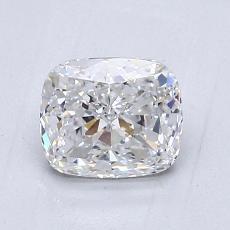 推薦鑽石 #3: 1.07 克拉墊形切割