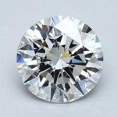 2.01-Carat Round Diamond Ideal F VS1