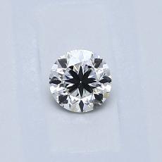 0.30-Carat Round Diamond Good E VS2