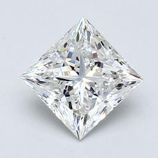 Recommended Stone #3: 1.11-Carat Princess Cut