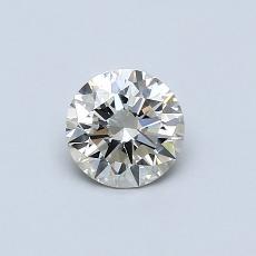 目前的寶石: 0.51  克拉圓形切割