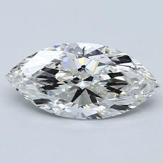 1.00-Carat Marquise Diamond Very Good G SI1