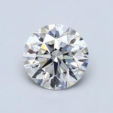 1.00 Carat 圓形 Diamond 理想 F VS1