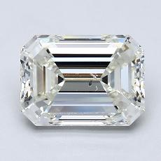 Recommended Stone #3: 2.50-Carat Emerald Cut
