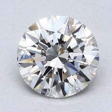 1.50 Carat 圆形 Diamond 理想 G VVS1