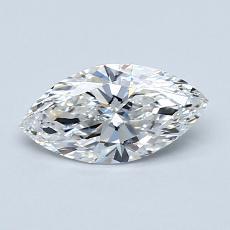 0.70-Carat Marquise Diamond Very Good F VVS2