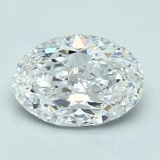 推薦鑽石 #3: 3.01  克拉橢圓形切割