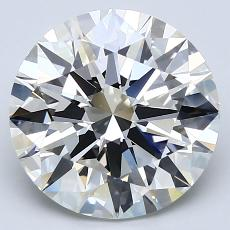 Recommended Stone #1: 3.53-Carat Round Cut