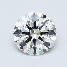 当前宝石:1.02 克拉圆形切割
