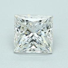 推荐宝石 3:1.27 克拉公主方型切割